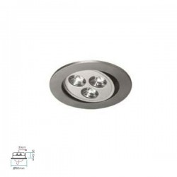 Spot led encastrable Preda