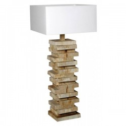 Lampe bois naturel Atlante