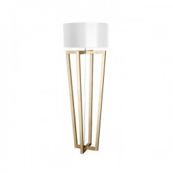 Lampadaire bois naturel Cross
