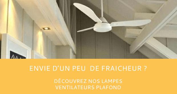 Vous avez votre ventilateur de plafond ?